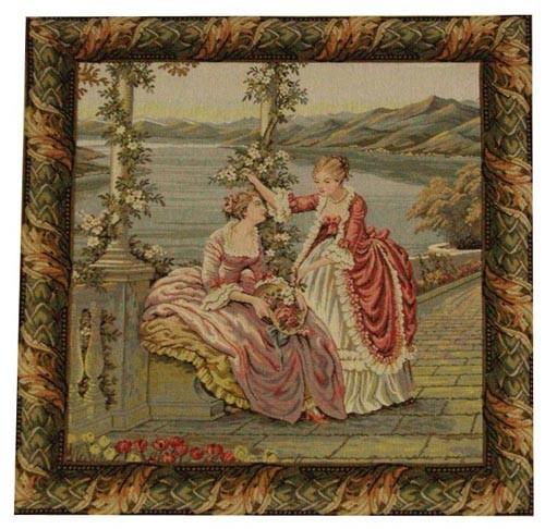 Ladies at the Lake - Italian wall tapestries