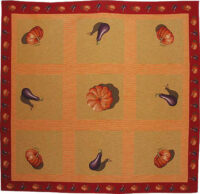 Gourds tablecloth - French tapestry weaver - throw
