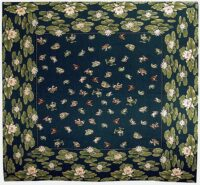 Lilypond Frogs tablecloth - French table cloth