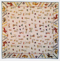 Bayeux Tapestry tablecloth - table cloth woven in France