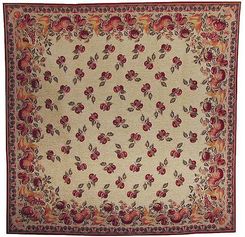 Tutti Frutti tablecloth - fine woven French tablecloths