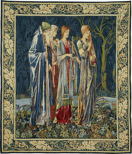 The Musicians tapestry - Edward Burne-Jones tapestries