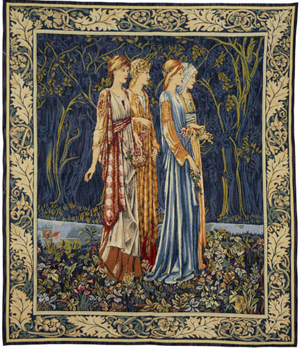 The Muses tapestry - Edward Burne-Jones