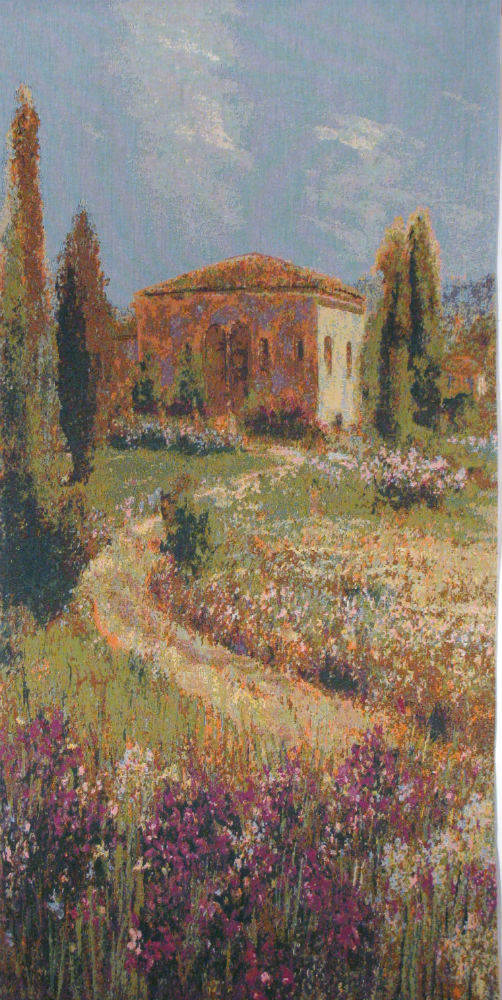Villa Iris tapestry - French tapestry wall-hanging