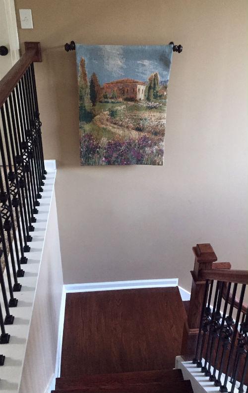 Villa Iris tapestry wallhanging