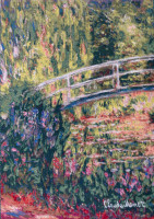 Giverny Japanese Bridge - Claude Monet tapestries