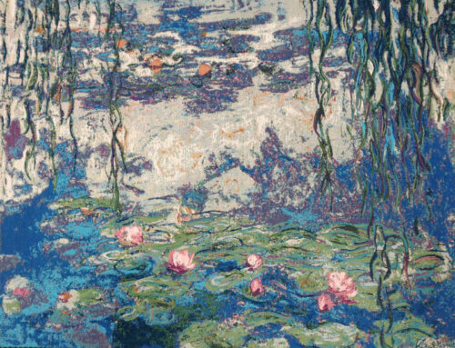 Claude Monet Nympheas tapestry - water lilies