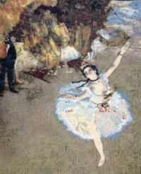 The Star by Edgar Degas - ballet dancer tapestries
