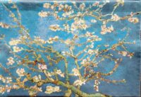 van Gogh Almond Blossoms - French wall tapestry hanging