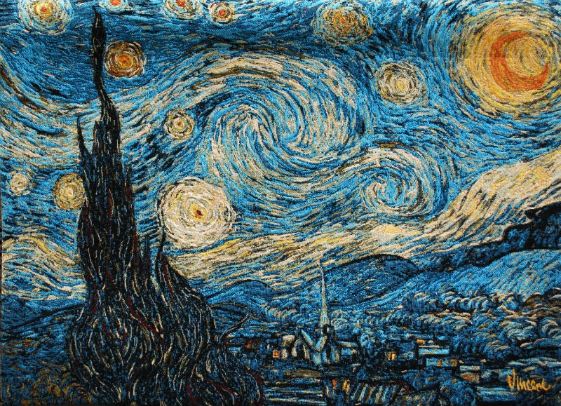 Starry Night tapestry - Vincent van Gogh