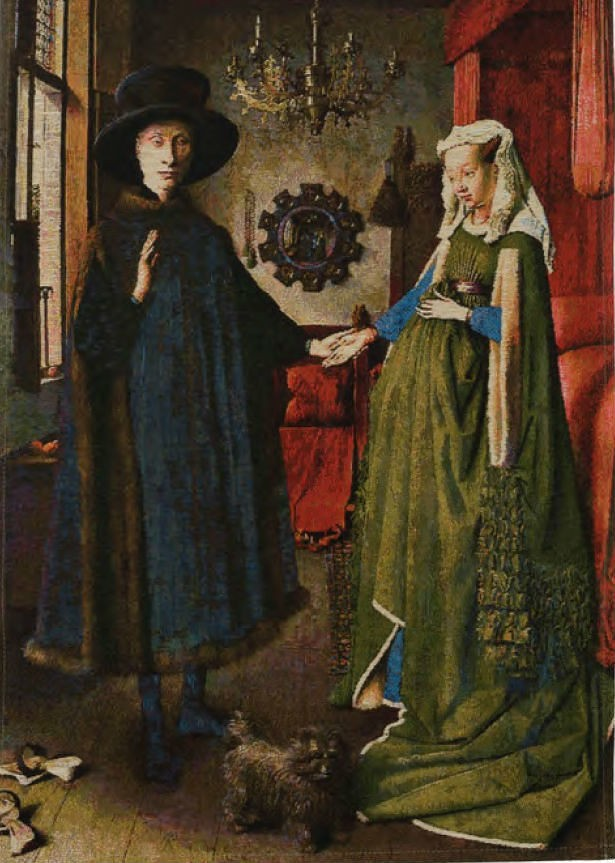 Arnolfini portrait tapestry - Jan van Eyck tapestries