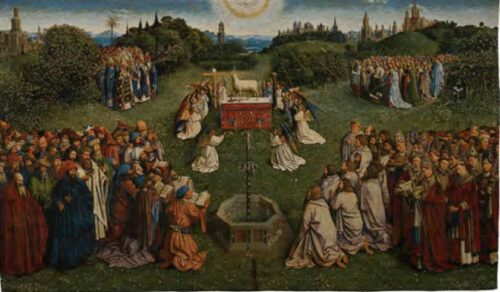 Ghent Altarpiece - Adoration of the Mystic Lamb tapestry