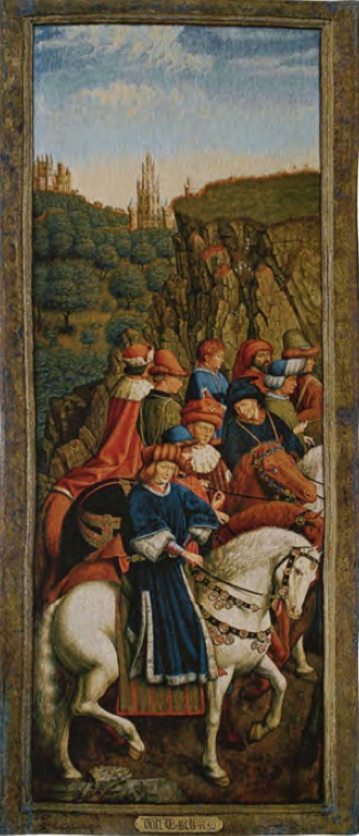 The Just Judges - Ghent Altarpiece tapestry