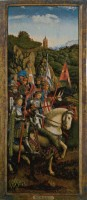 The Knights of Christ - Ghent Altarpiece tapestries