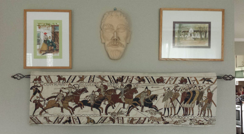 The most popular of the Bayeux Tapestry wallhangings