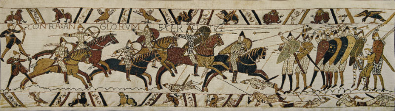 The Battle of Hastings tapestry - Bayeux Tapestry