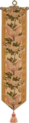 Lilac bellpull - French tapestry bellpulls