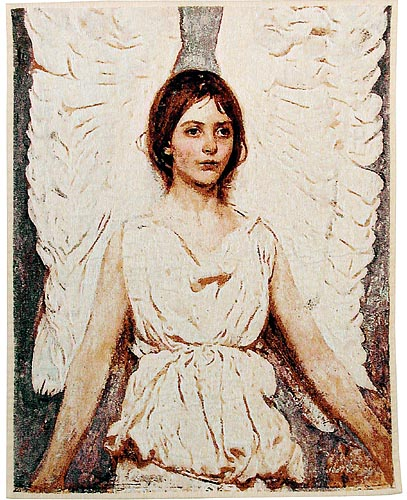 Thayer's Angel tapestry - Abbott Handerson Thayer