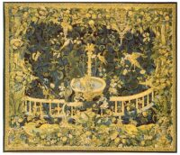 Fountain with Birds tapestry - 16th century tapestry