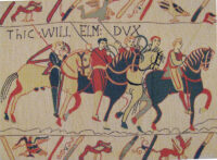 Bayeux Tapestry Duke William's Horses - Norman cavalry