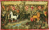 Large Arts and Crafts tapestries