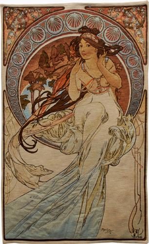 Alphonse Mucha tapestries