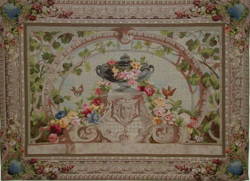 Large elegant French tapestries