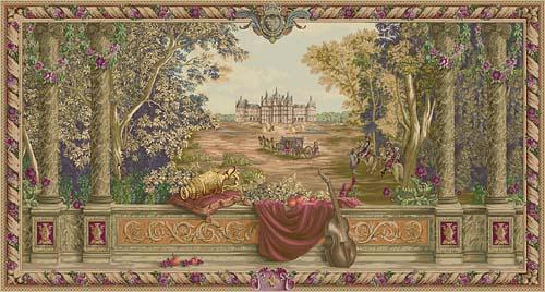 Large horizontal tapestries