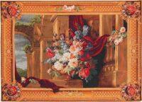 Bouquet tapestries