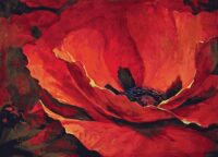 Contemporary floral tapestries