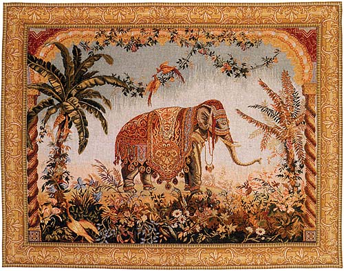 Matching pairs of miscellaneous tapestries