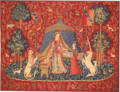 The Lady with the Unicorn tapestries