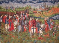 Knights and castles tapestries