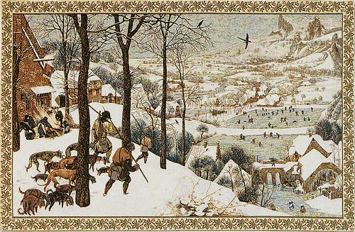 Christmas and winter tapestries