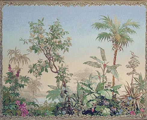 Botanical tapestries