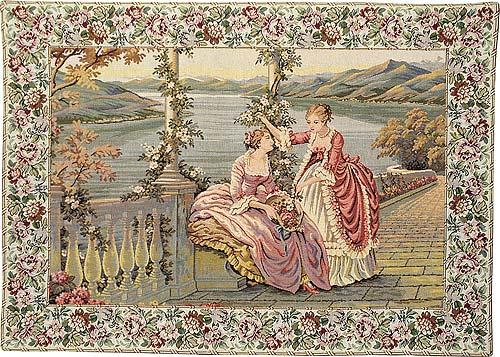 Matching pairs of elegant tapestries