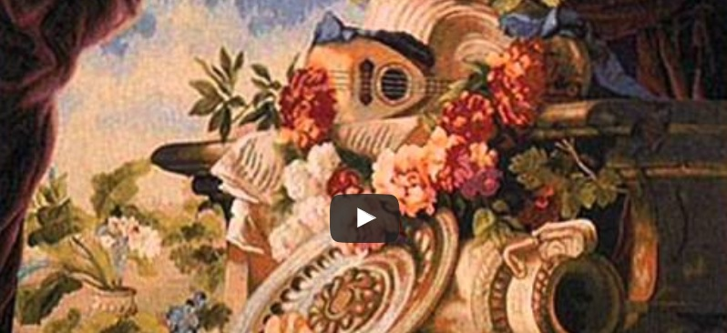 A wall-hanging tapestries video - tapestry art available today