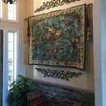 Tapestry weaving in England - William Morris Acanthus and Vine