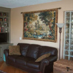 Verdure tapestries - woodland and forest wall tapestry