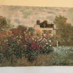 Monet and Modigliani - contrasts in life and art - tapestry reproductions