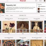 Pinterest - Tapestry Art tapestries