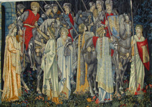 Quest for the Holy Grail tapestries - Sir Edward Burne-Jones