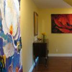 Simon Bull art tapestries - Belgian tapestry wallhangings