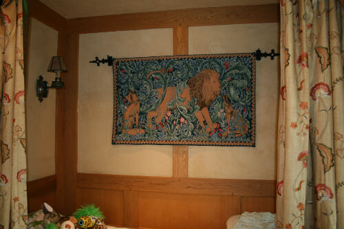 Arts and Crafts tapestries - William Morris tapestry wall-hangings