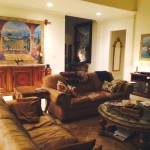 The Vineyard tapestry - Bob Pejman art tapestries