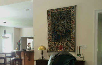 Large vertical tapestries - larger tapestry wall hangings