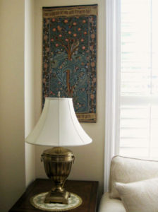 William Morris Woodpecker tapestry - Morris & Co tapestries