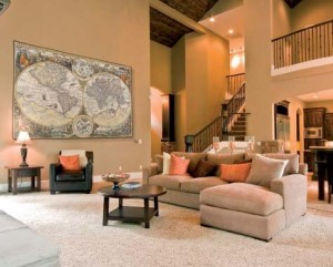 Nautical and maps tapestries - tapestry wall-hangings