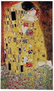 Gustav Klimt tapestries - The Kiss wall tapestry