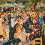 Dance at le Moulin de la Galette - Renoir Impressionist tapestries